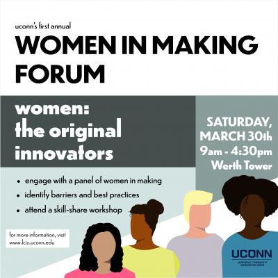 Women in Making Square Flyer