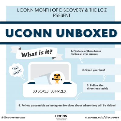 UConn Unboxed flyer