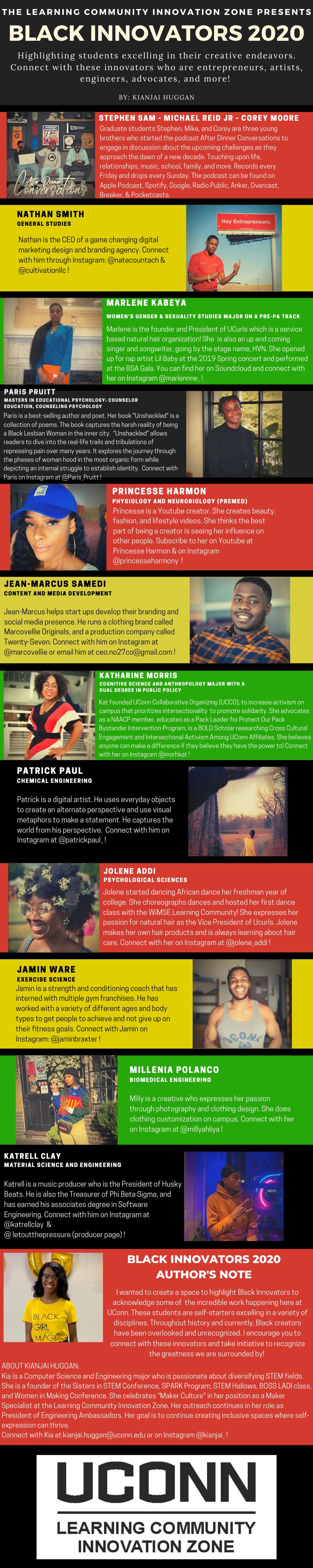 Celebrating Black Innovators 2020