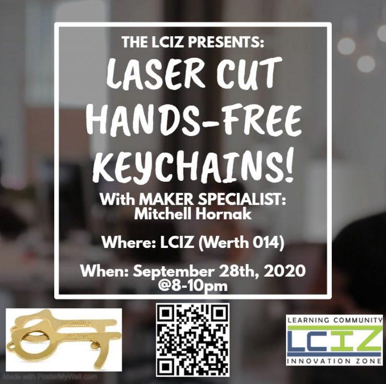 9/28: Hands Free Keychain