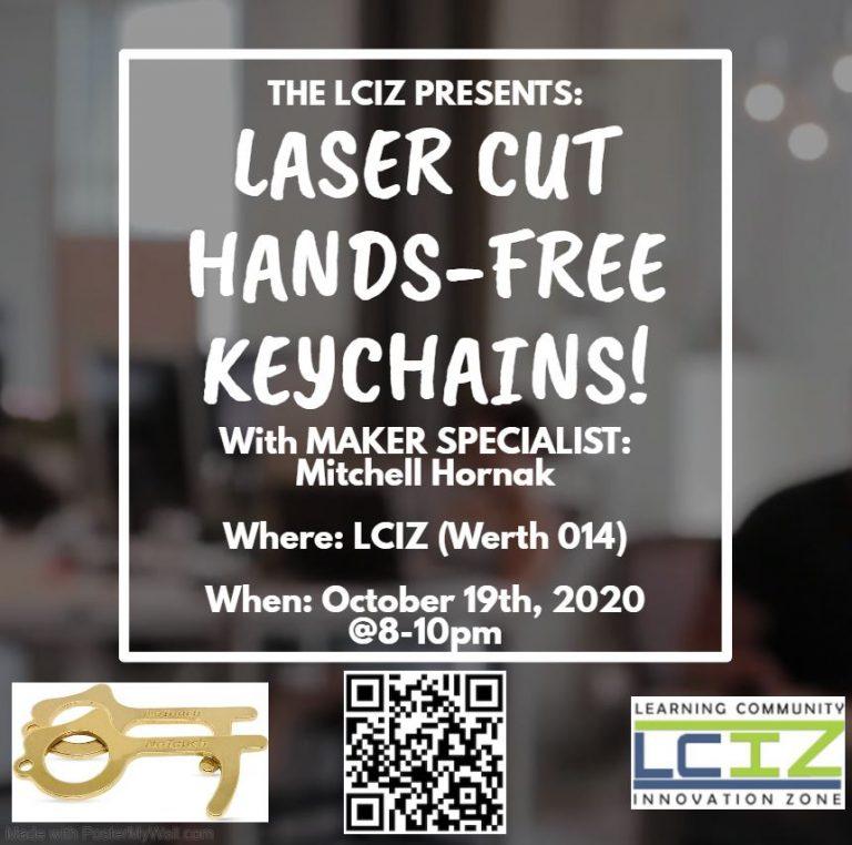 Laser Cut Kaychain Flyer