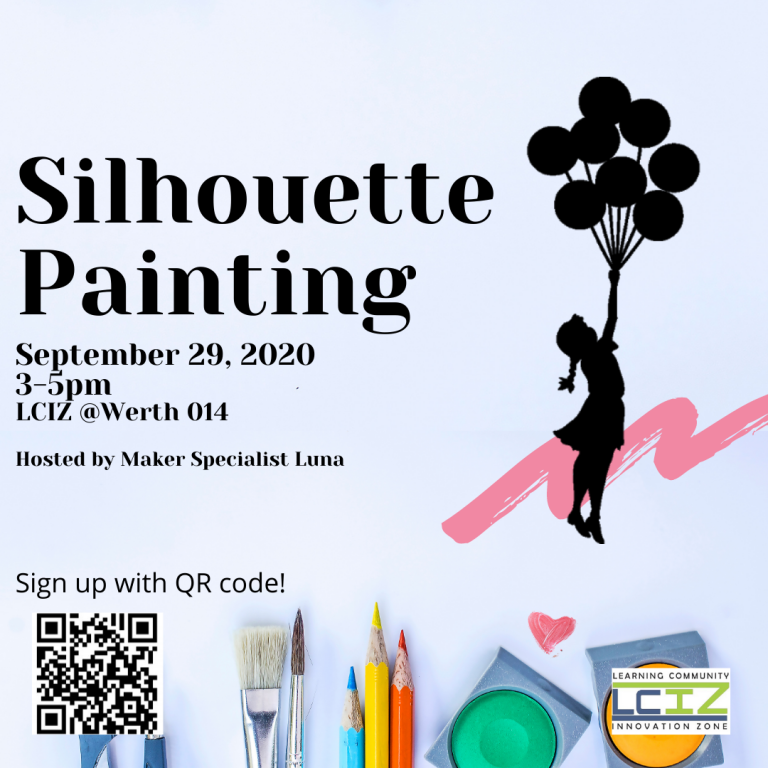 Silhouette Painting Flyer