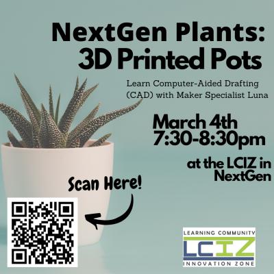 Plant Pots Flyer
