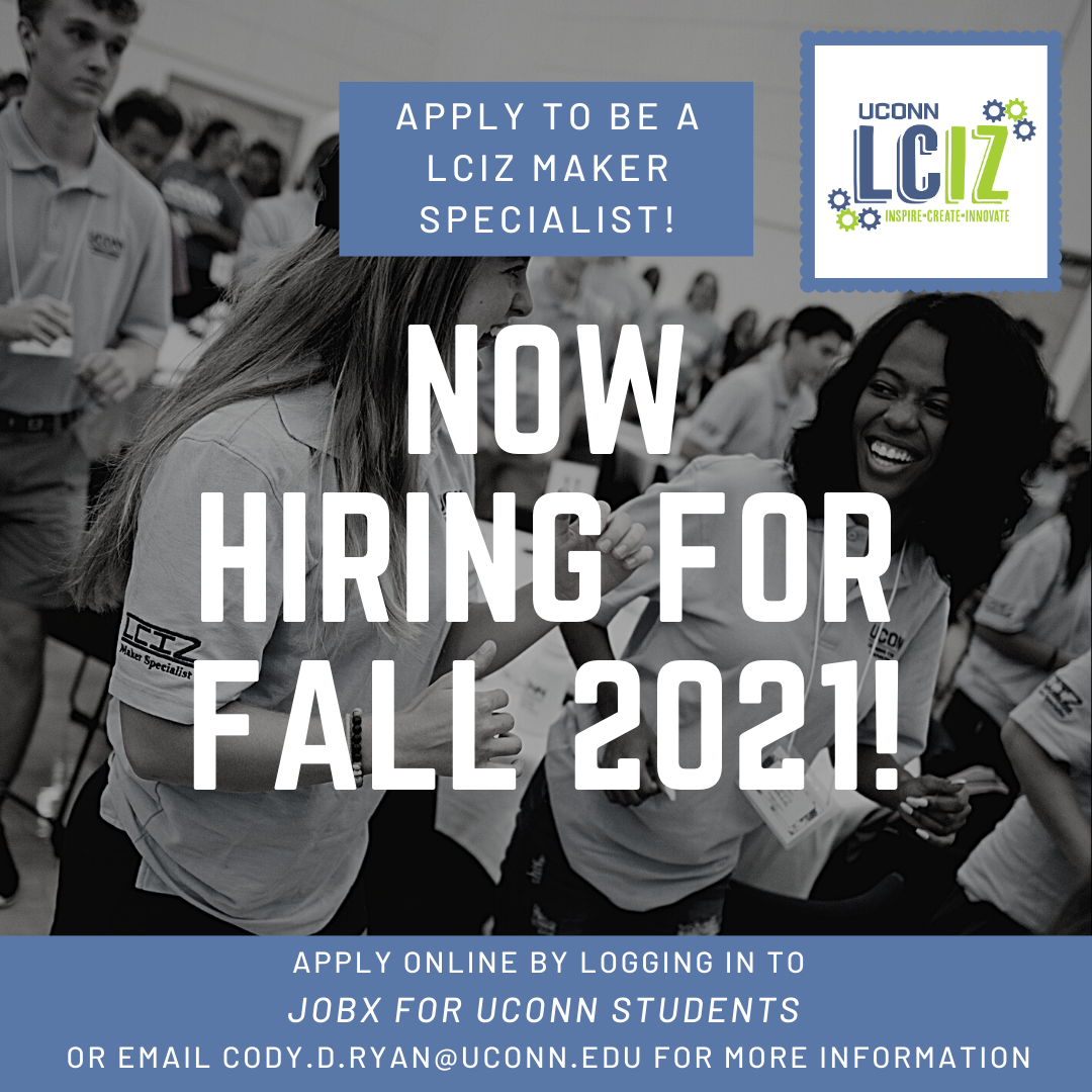 Now hiring for Fall 2021!
